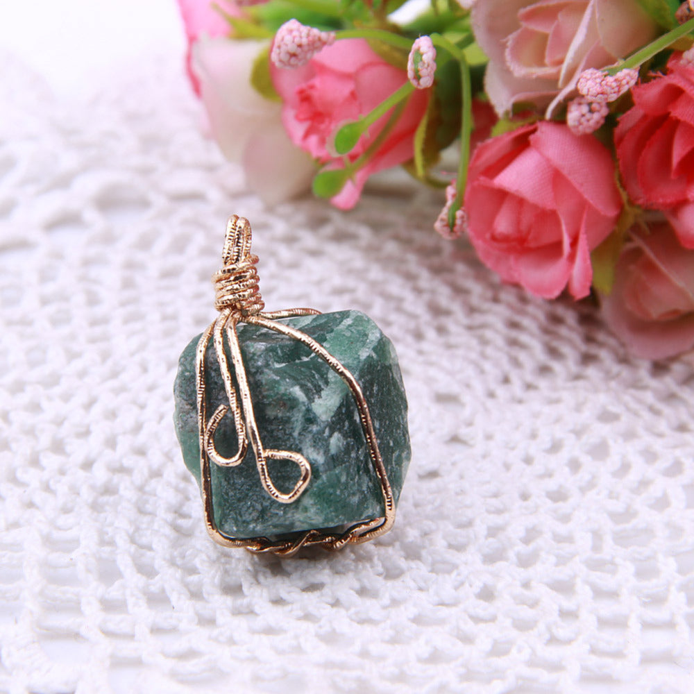 thumbnail original assorted products necklace sage x hexagonal fae img healing pendant crystal