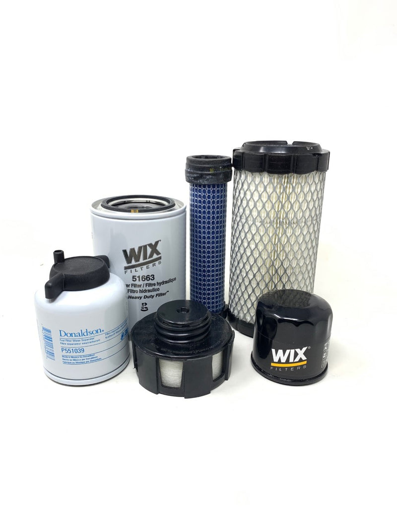 1000 Hour Filter Kit For Bobcat 418 Excavators, Replaces 7324339 - crossfilters