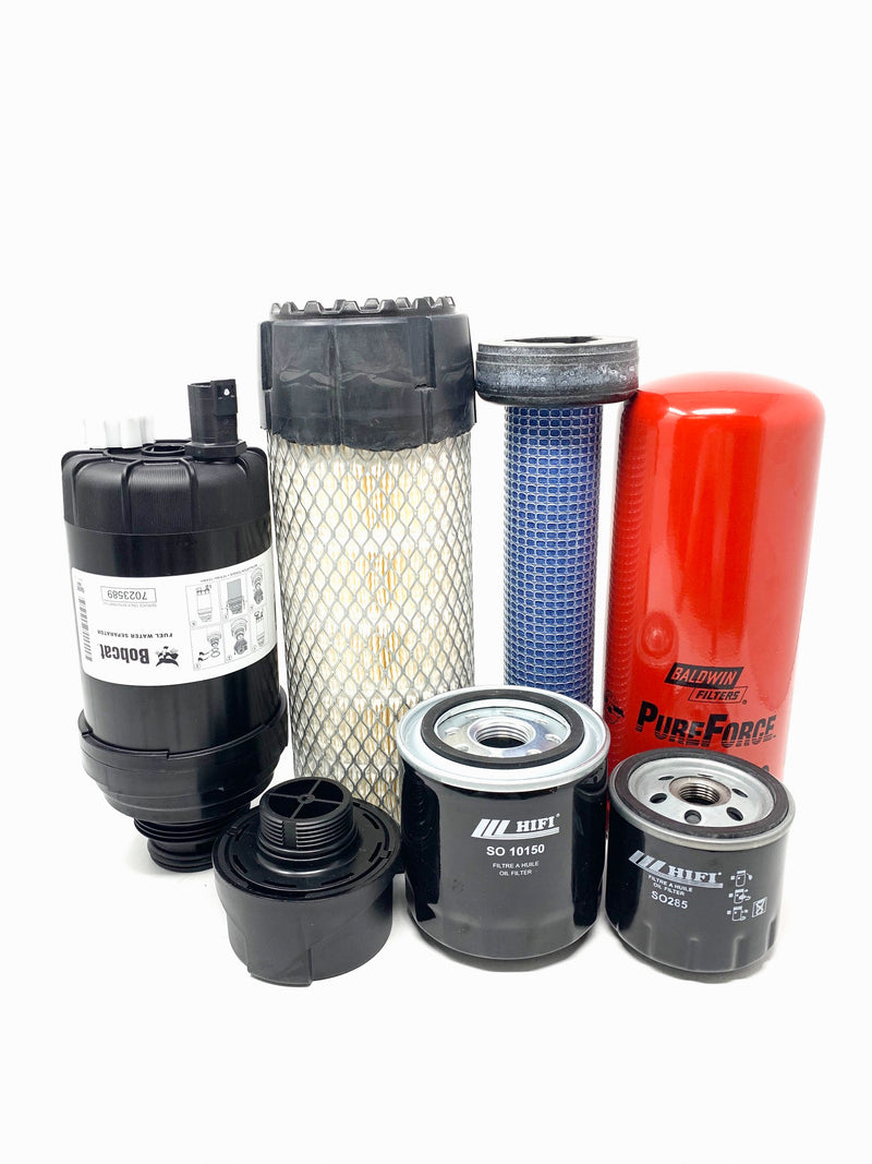 1000 Hour CFKIT Filter Kit For Bobcat E32 And E35 With T4 Engine, Replaces 7324363