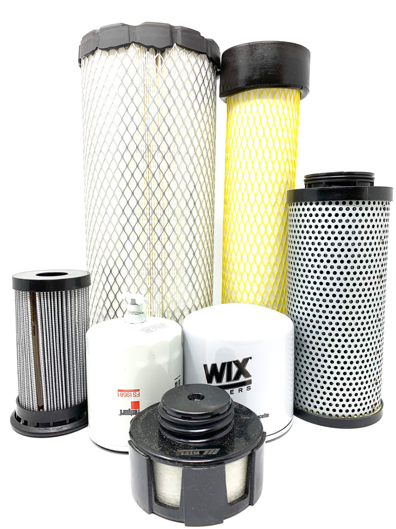 1000/2000 Hour CFKIT Filter Kit, For Bobcat S/T 550-590 Loaders, It4 Engines, 7316227