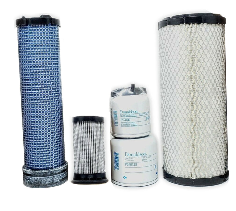 Bobcat S530 w/V2203 (Tier II) & V2403 (Int. Tier IV) Engine Maint. Filter Kit - crossfilters