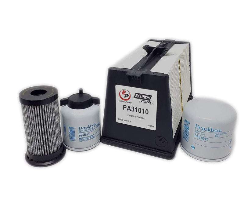 500 Hour Bobcat Loaders S750 T3, S770 T3, S850 T3, T750 T3, T770 T3, T870 T3 Maint. Filter Kit (7295603)