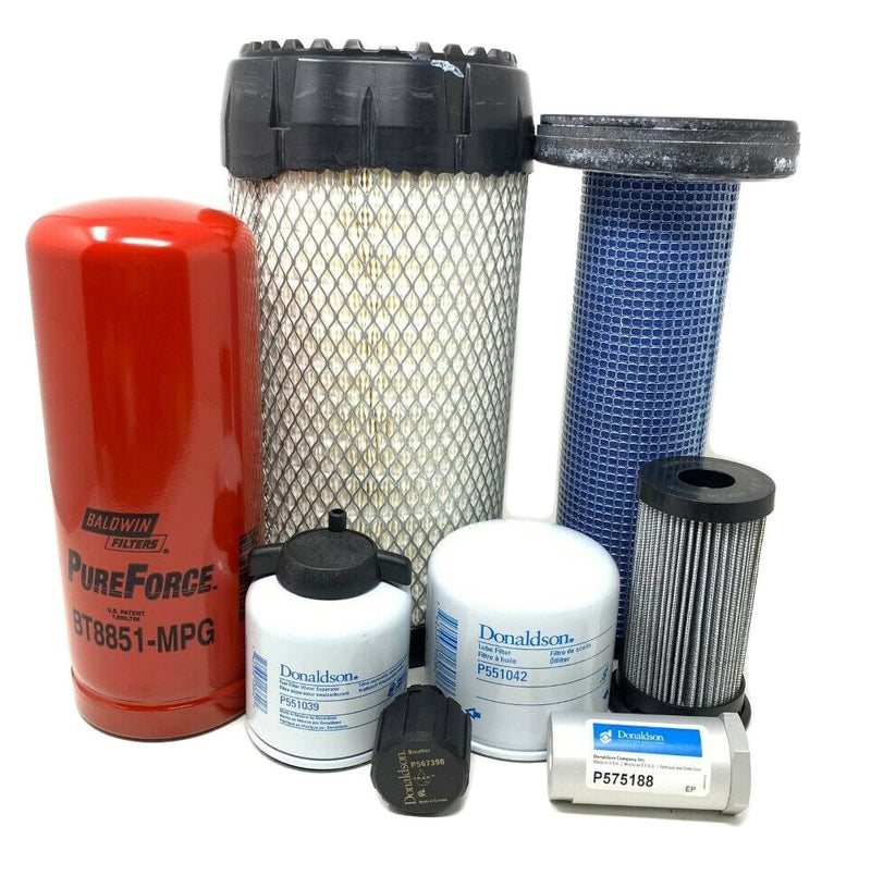 1000/2000 Hour CFKIT Maintenance Kit For Bobcat T300, Replaces 7343881 - crossfilters