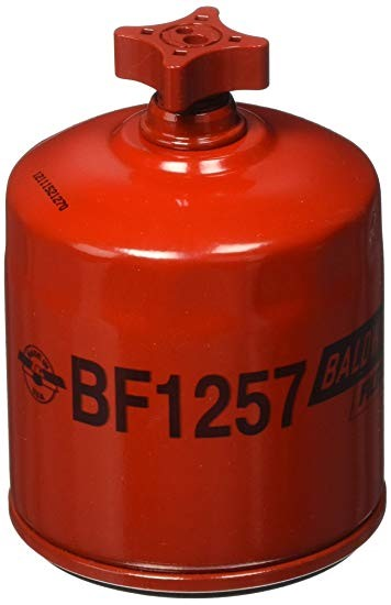 BF1257 Baldwin Fuel/ Water Separator Spin- On w/ Drain - crossfilters