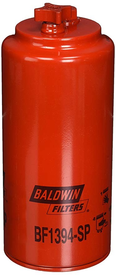 BF1394-SP Baldwin Fuel/Water Separator Spin-on with Drain and Sensor Port - crossfilters