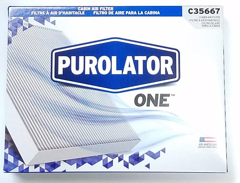 C35667 Purolator Breatheeasy Cabin Air Filter - crossfilters