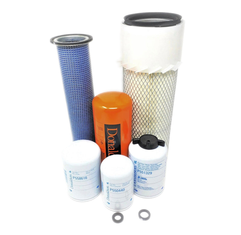 Case 1845C & 1840 Maintenance Filters Kit (Axial Seal Air Filters)  Donaldson