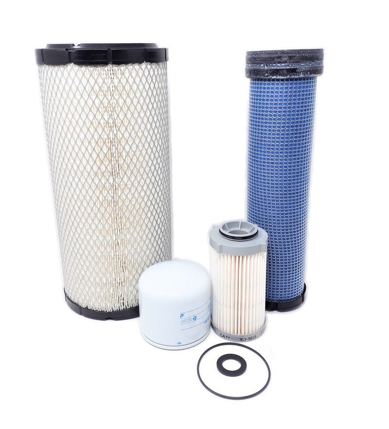 CFKIT Service Filter Kit for CAT Loaders 236D, 242D, 246D, 262D, 279D, 289D Skid Steer w/C3.3B Eng.