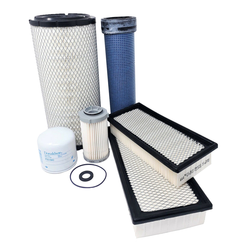 CFKIT Maint. Filter Kit fot CAT 236D, 242D, 246D, 259D, 262D, 279D, 289D Skid Steer