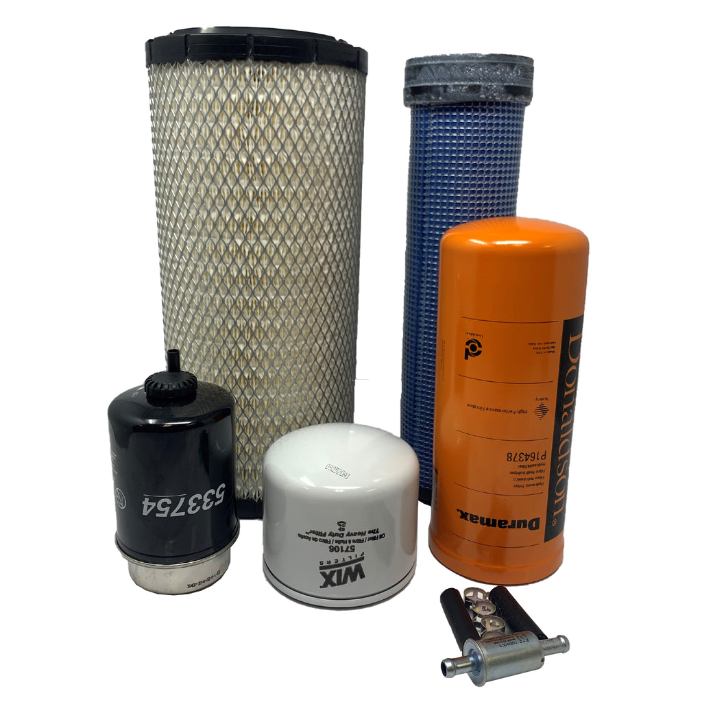 CFKIT Filter Kit for Caterpillar 252B3 Skid Steer Loader w/C3.4T eng.