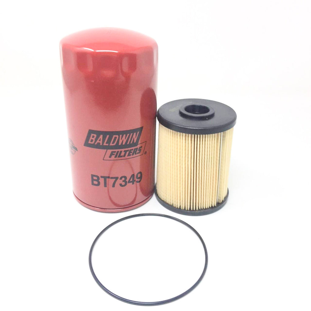 Set Baldwin PF7977 (Fuel) - BT7349 (Lube) Filters Dodge Ram 5.9 Diesel 2003-10