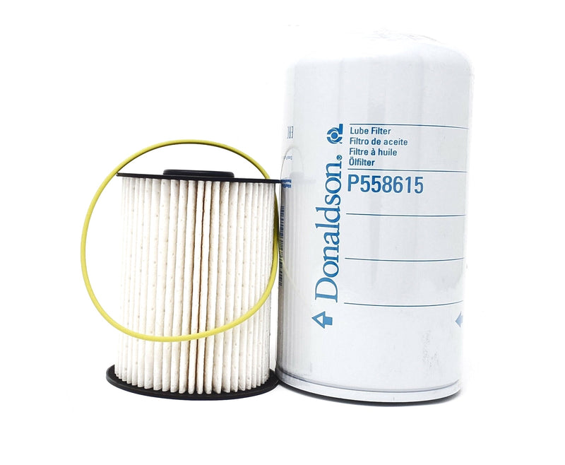 Set Donaldson P550800 Fuel- P558615 Lube - Filters Dodge Ram 5.9 Diesel 2003-10