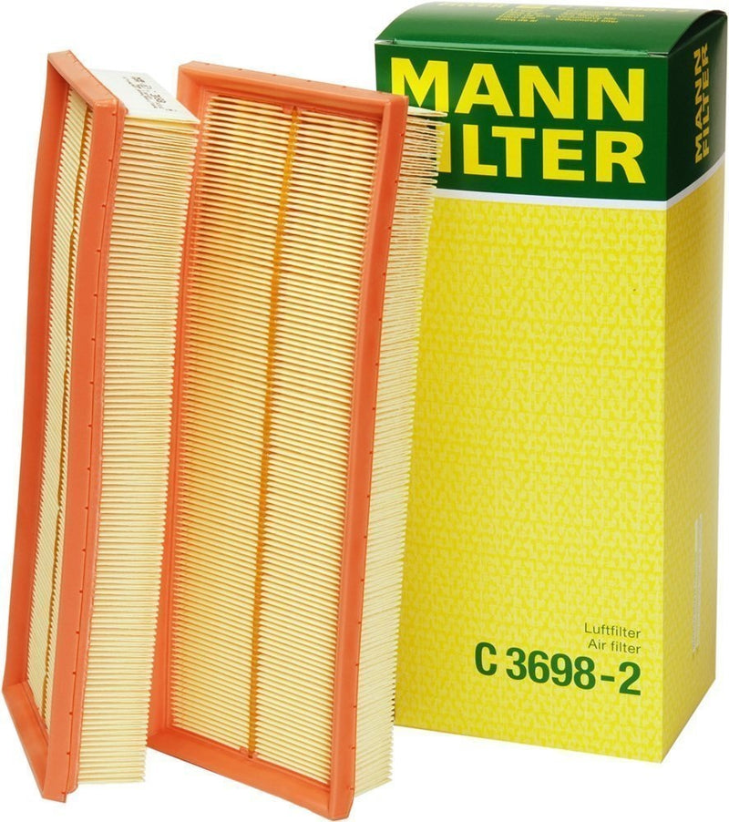 C3698/3-2 Mann Air Filter Element, (Set Of 2) - crossfilters