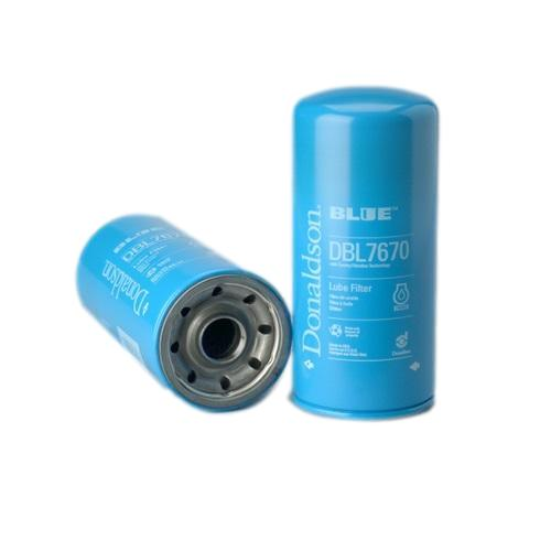 DBL7670 Donaldson Lube Filter, Spin-On Full Flow Donaldson Blue - crossfilters