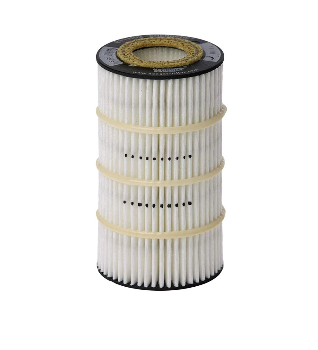 E11H02D155 Hengst Oil Filter For Mercedes Benz (Replaces HU718/5x) - crossfilters