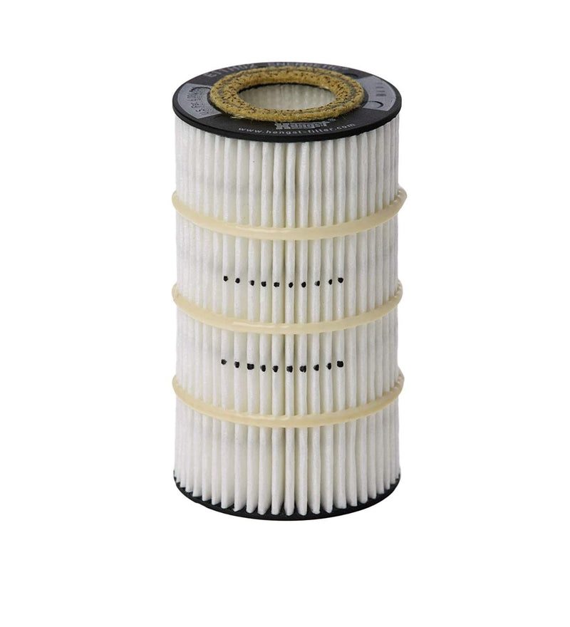 E11H02D155 Hengst Oil Filter For Mercedes Benz (Replaces HU718/5x)  Pack of 2 - crossfilters