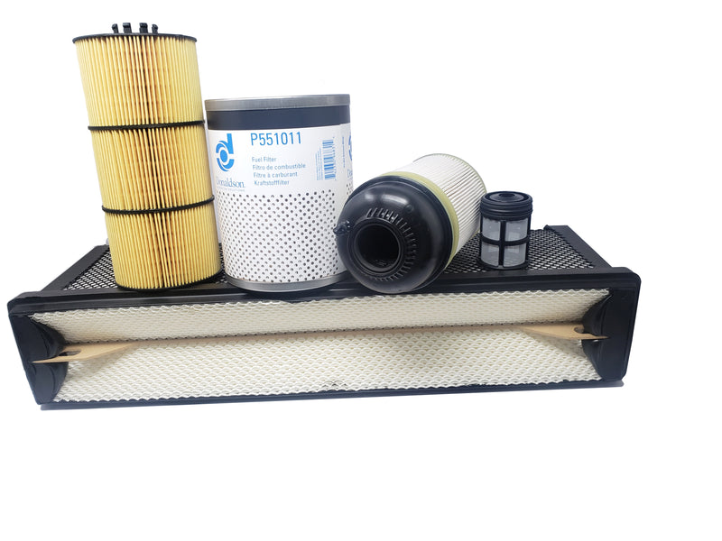 CFKIT Filter Kit for Freightliner Cascadia DD Series Oil, Air, FWS and Fuel  (13&up)