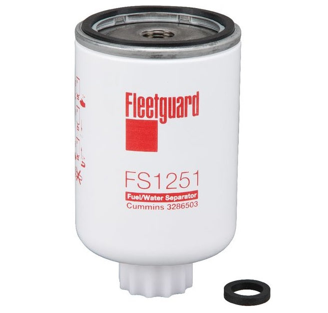 FS1251 Cummins Fleetguard Fuel Filter/Water Separator - crossfilters