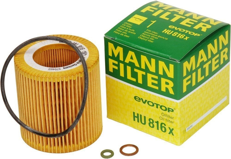 HU816X Mann Engine Oil Filter for BMW (HU816X) - crossfilters