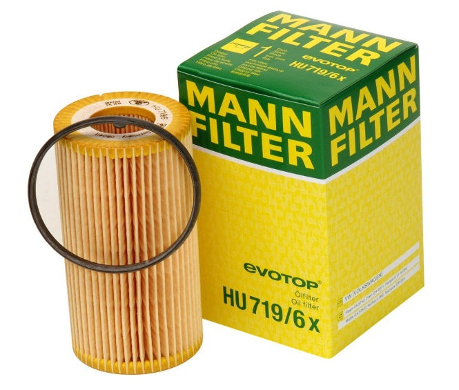 HU719/6X  Mann Engine Oil Filter - crossfilters