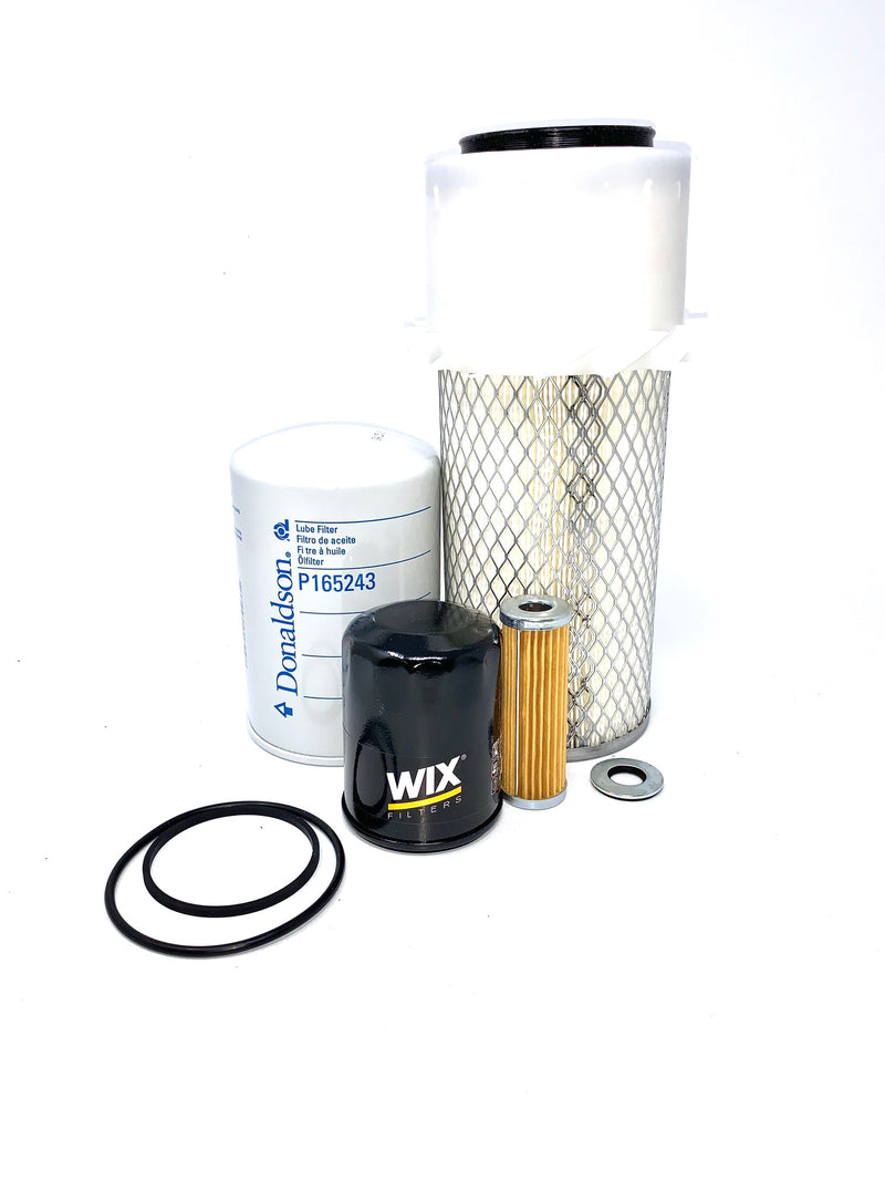 CFKIT Maintenance Filter Kit For JACOBSEN Mowers TURFCAT T422D w/ Kubota 22 HP D950 Diesel