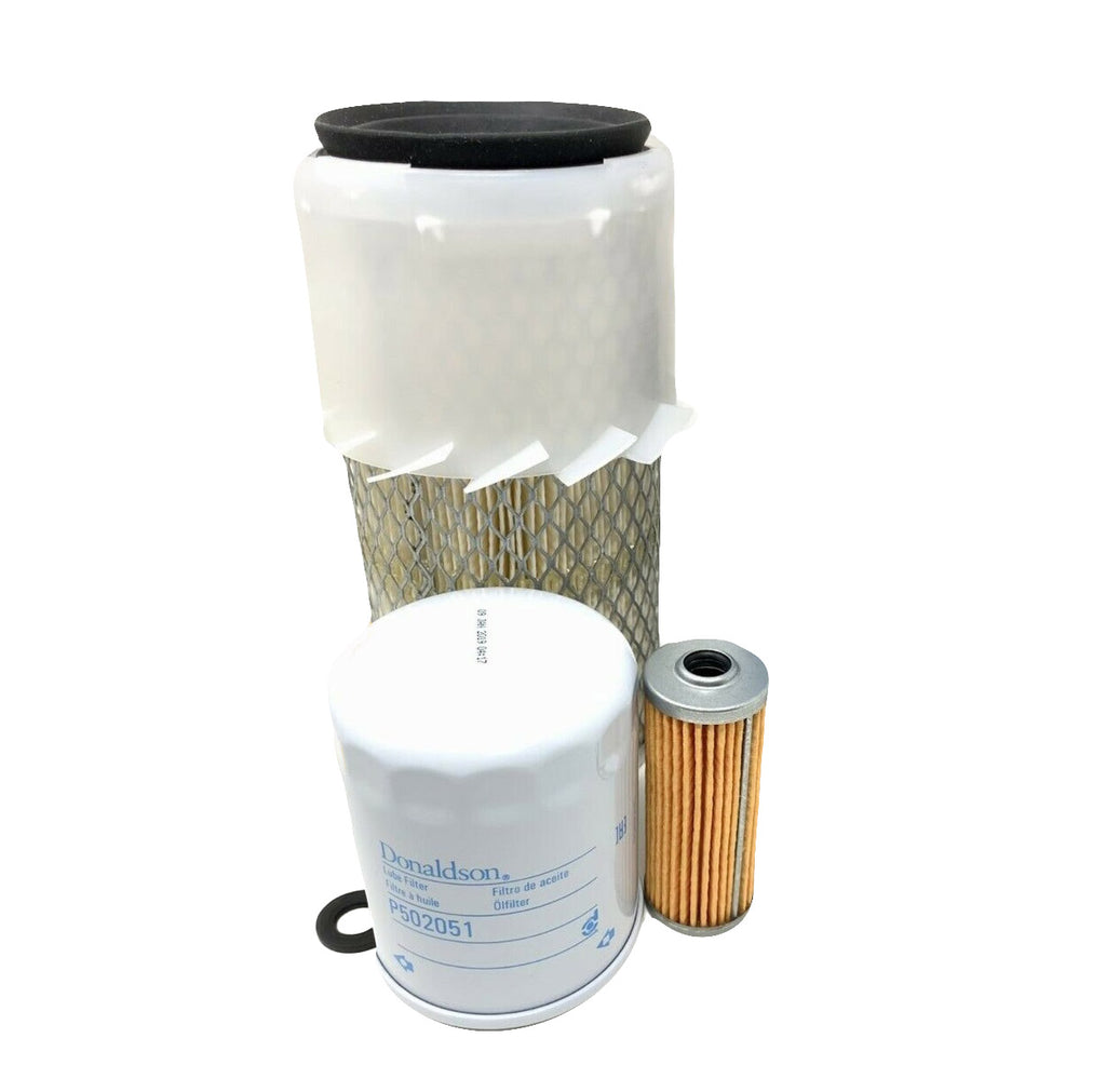 CFKIT Engine Filter Service Kit for John Deere 650 750 Compact Tractor