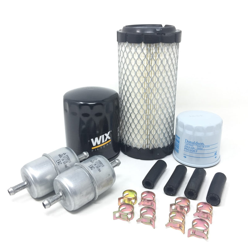 Kubota BX BX23S BX1880 BX2360 BX2380 BX2230 Filter Maintenance Kit - crossfilters