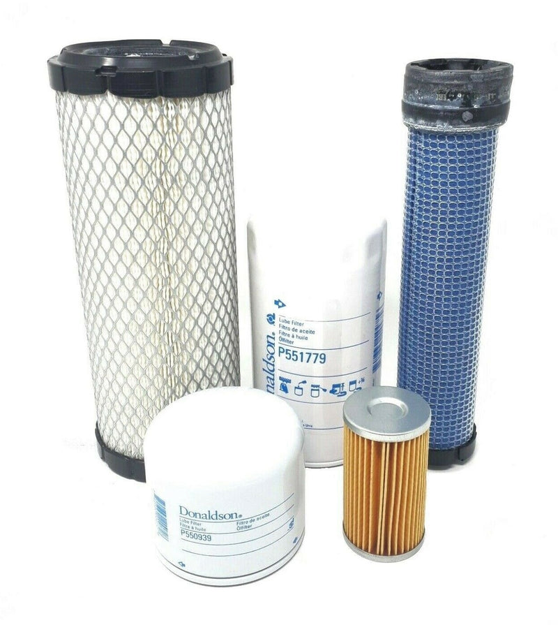 CFKIT Maintenance Filter Kit for Kubota L3130DT, L3130F, L3130GST, L3130HST w/D1503-MA Eng