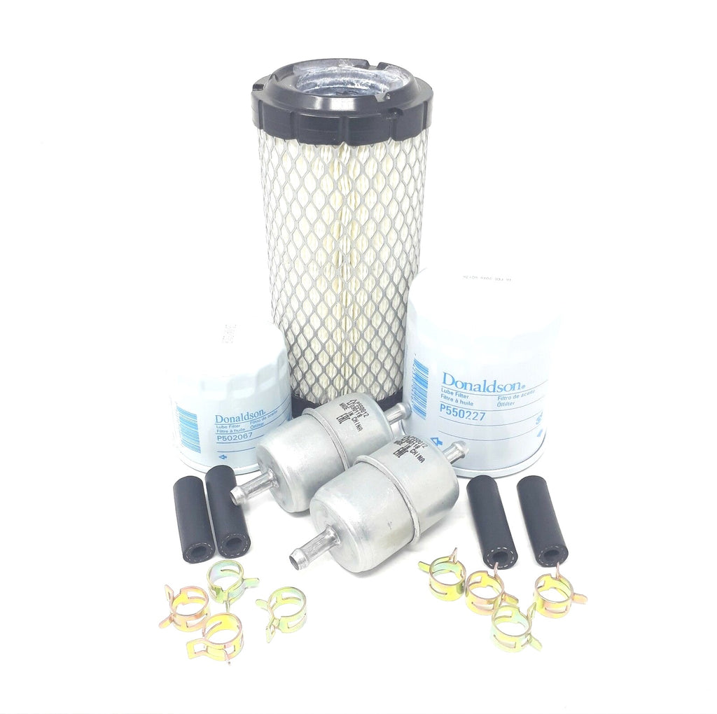 CFKIT Filter Kit for Kubota BX25, BX25D Tractor w/D902-E3 Eng.