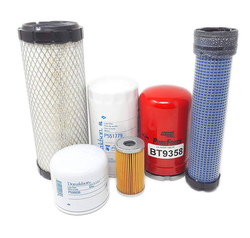 CFKIT Filter Kit for Kubota L4600HST ( L4600 HST ) Tractor (Include HST Filter)