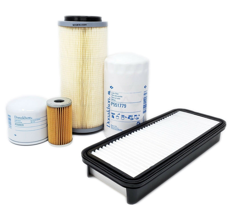 CFKIT Filter Kit for Kubota L35  w/D1703 Eng. (Single Air Filter)  (w/Cab Air Filter)