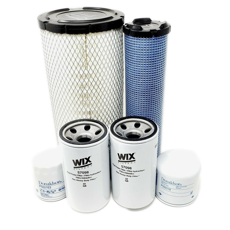 CFKIT Maintenance Filter Kit for Kubota M8540 M9540 Series w/V3800DI-T Eng.