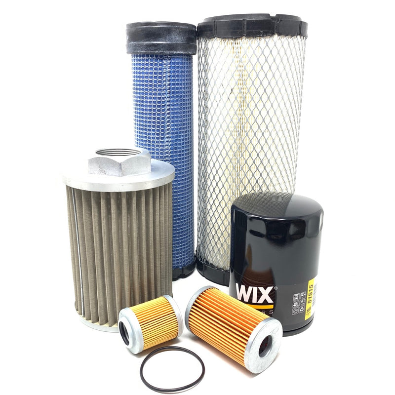 Kubota KX121-3 Mini Excavator CFKIT Maintenance Filter Kit - crossfilters
