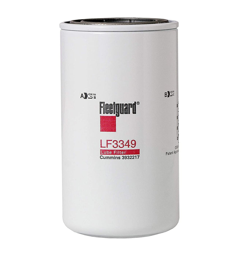 LF3349 Fleetguard Lube Filter, Full-Flow Spin-On