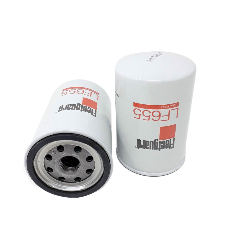 LF655 Fleetguard Lube Filter, Spin-On Full Flow (Toyota 15601-33020)