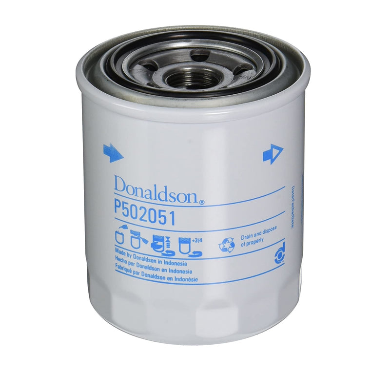 Donaldson P502051 Lube Filter, Spin-On Full Flow (Replaces D87Z-6731-A)