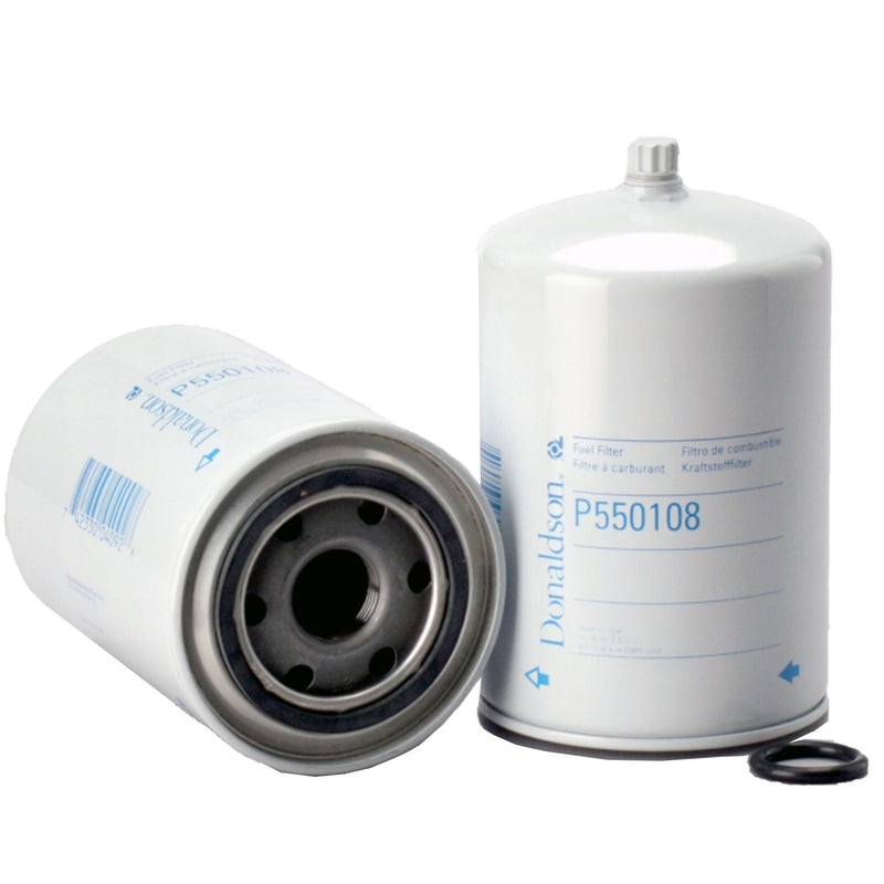P550108 Donaldson Fuel Filter, Water Separator Spin-On