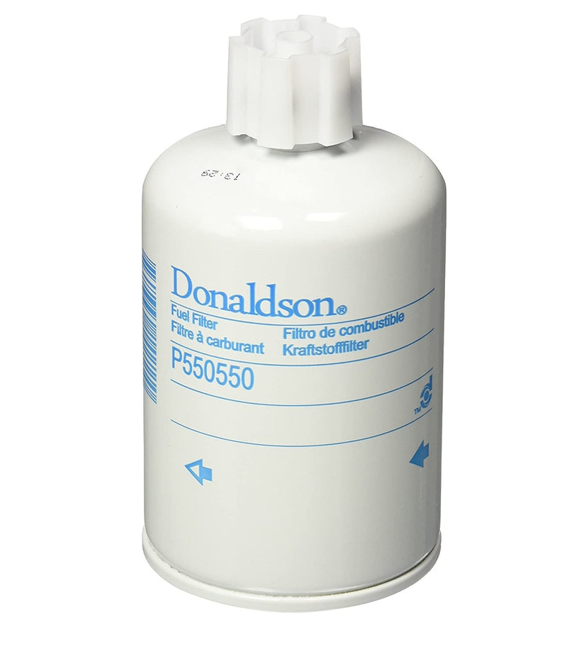 P550550 Donaldson Fuel Filter, Water Separator Spin-On