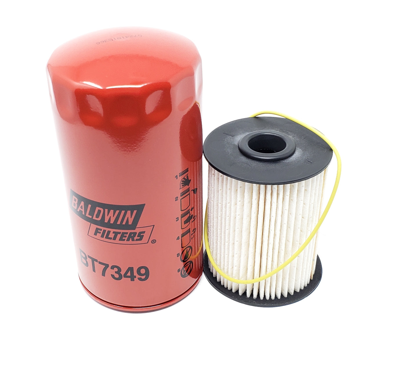 Donaldson P550785 Fuel Bt7349 Lube Filters Dodge Ram 59 Fleetguard For Diesel 2000 01