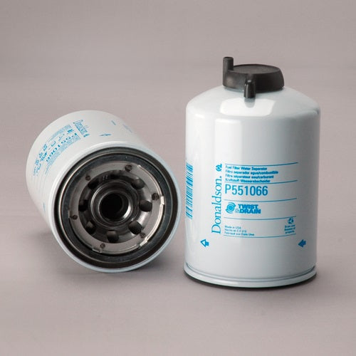 P551066 Donaldson Fuel Filter, Water Separator Spin-On Twist&Drain