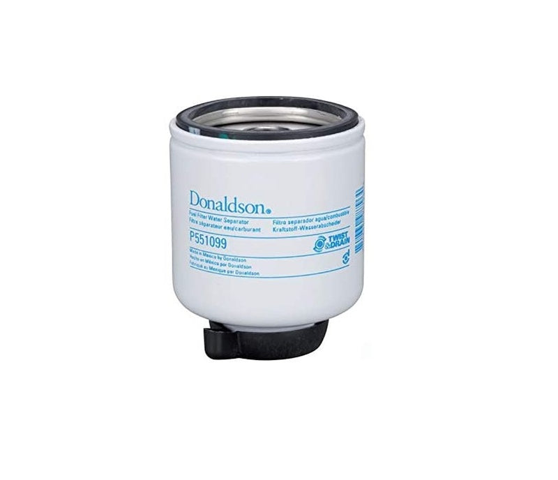 P551099 Donaldson Fuel Filter, Water Separator Spin-On