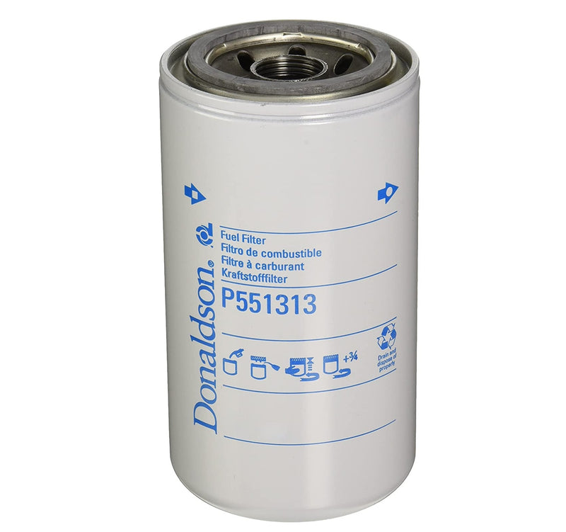 P551313 Donaldson Fuel Filter, Spin-On Secondary