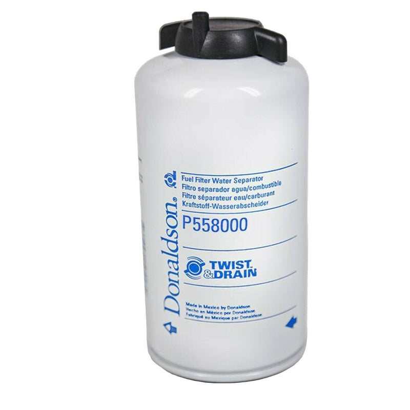 P558020 Donaldson Fuel Filter, Water Separator Spin-On Twist&Drain (Peplacement For P558000)