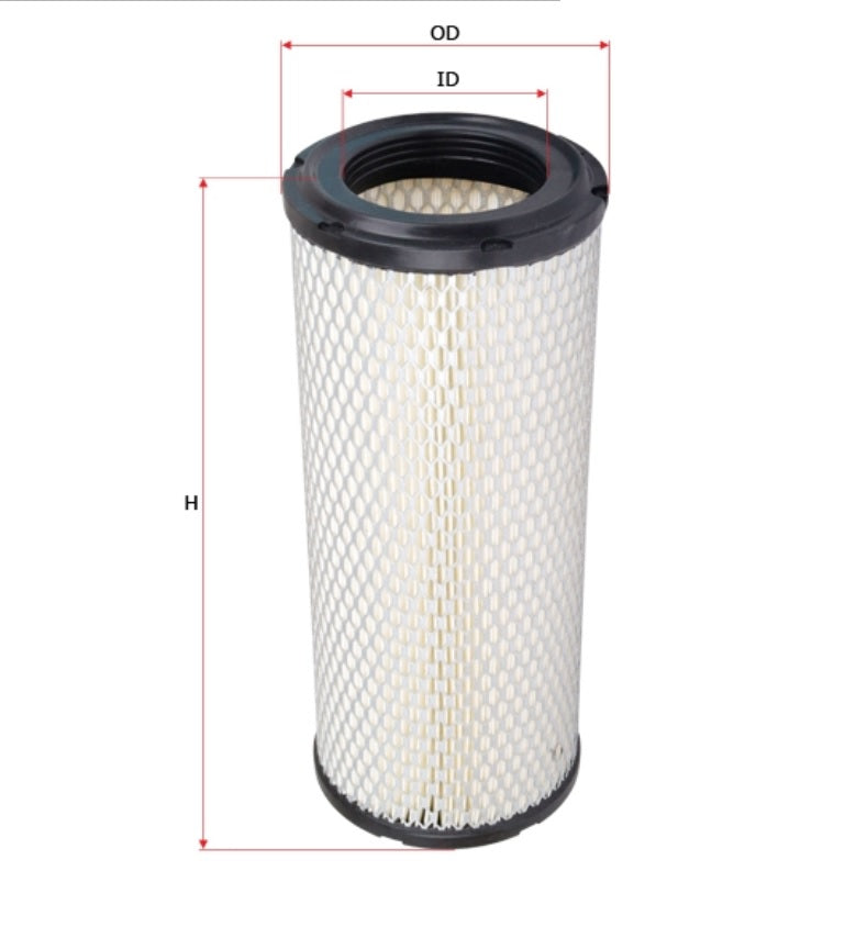 SFA5588P Sure Filter Air Filter ( Replaces Donaldson P827653) - crossfilters