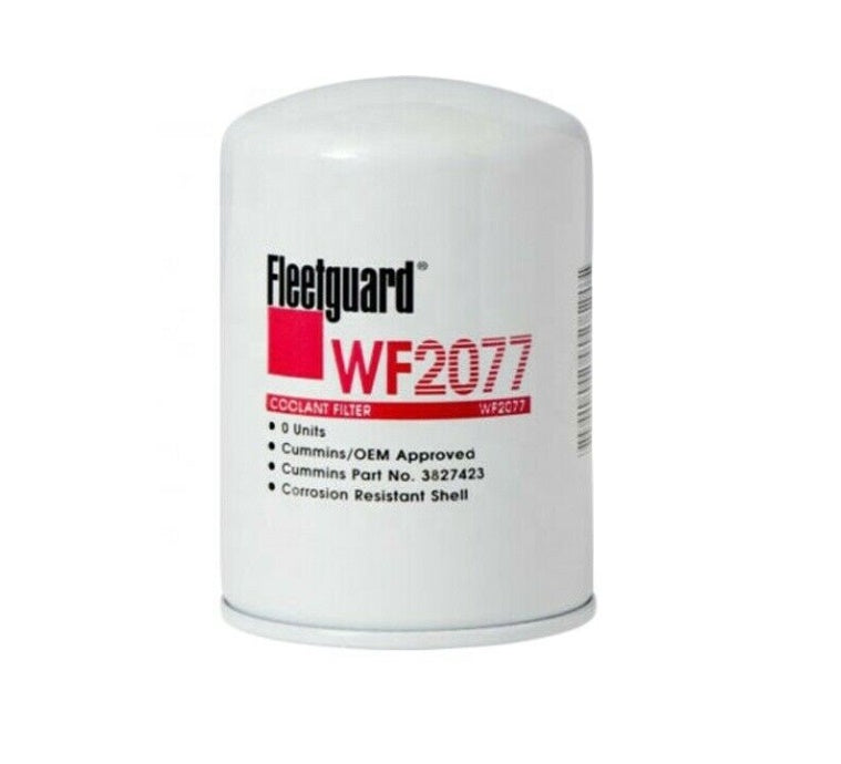 WF2077 Fleetguard Water Filter, Spin-On