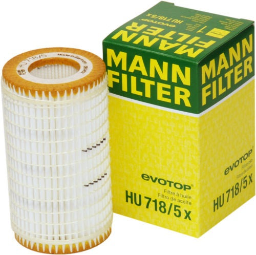 HU718/5X  Mann Engine Oil Filter (HU718/5X) - crossfilters