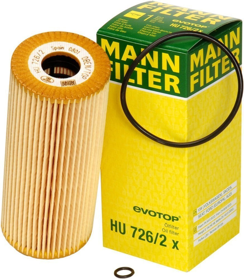 HU726/2X Mann Engine Oil Filter (HU726/2X) - crossfilters