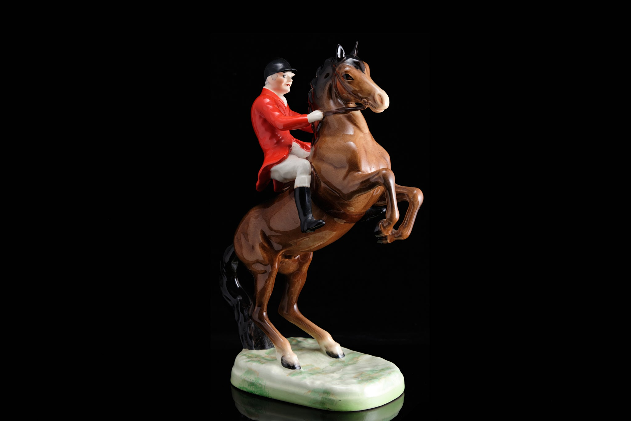 Made in England Beswick Horse and Rider.