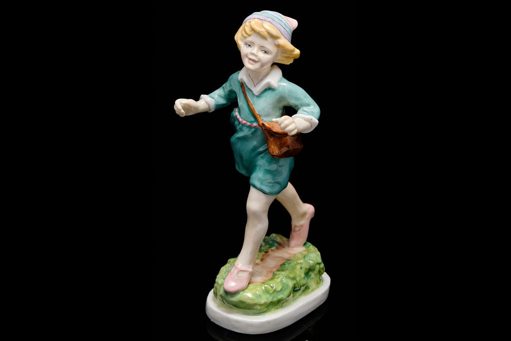 "Royal Worcester Figurine ""Thursdays Child""."