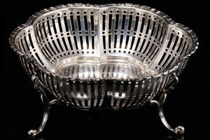 Edwardian Sterling Silver Bon Bon Dishes.